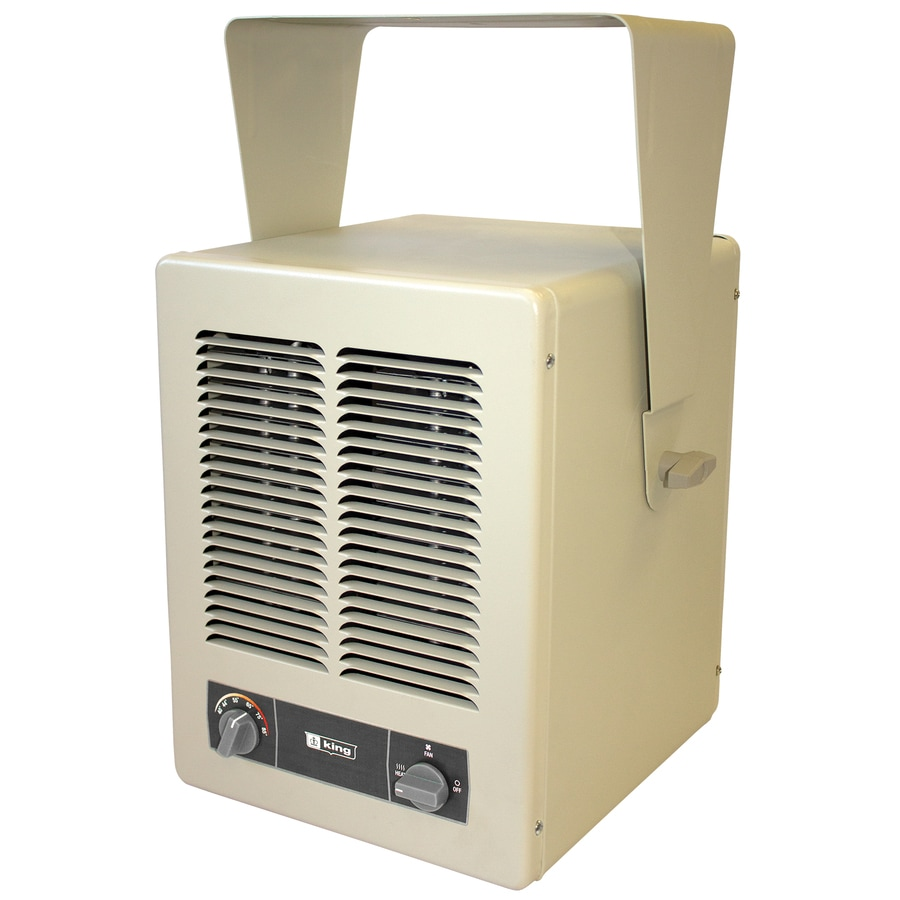 King Electric Garage Heater King 20 484 Btu Electric Space Heater At Lowes