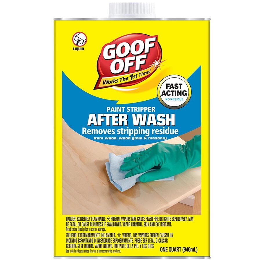 Paint Stripper Goof Off 32 Fl Oz Liquid Multi Surface Paint Remover At Lowes