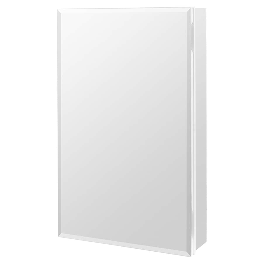 Beveled Mirror Replacement Near Me Style Selections 15 375 In X 26 In Rectangle Surface