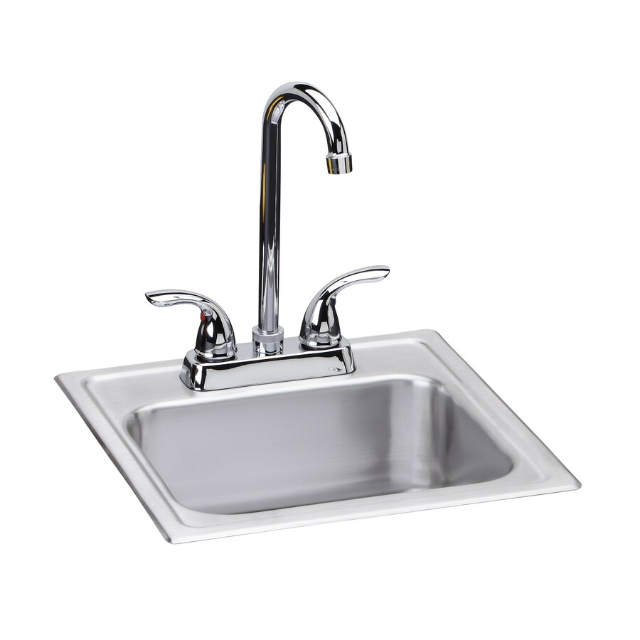 Shop Dayton 15 In X 15 In Satin Single Basin Stainless