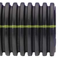 Shop ADS 15-in x 20-ft Corrugated Culvert Pipe at ...