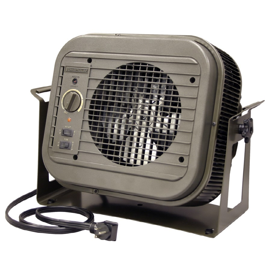Garage Heater With Wall Thermostat Fahrenheat 4000 Watt Utility Fan Cabinet Electric Space Heater At