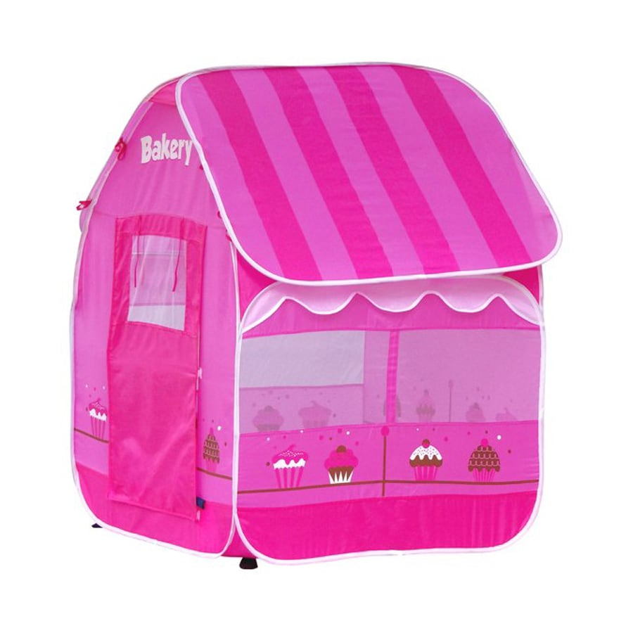 Kids Play Tent Gigatent My First Bakery Pop Up Kids Play Tent At Lowes