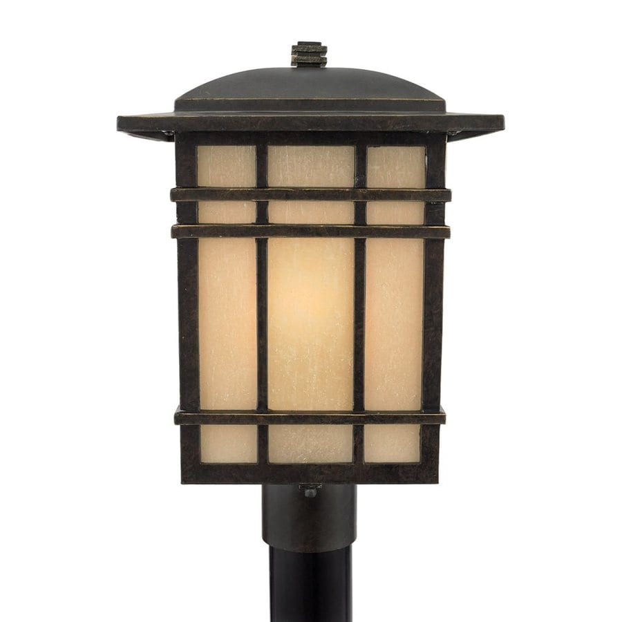 Lampadaire Exterieur Home Hardware Shop Quoizel Hillcrest 18-in H Imperial Bronze Post Light