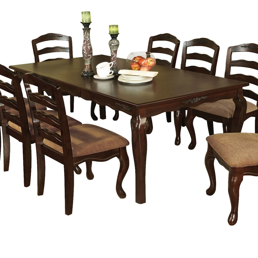 Furniture Of America Townsville Dark Walnut Composite Extending Dining Table In The Dining Tables Department At Lowes Com - Outdoor Furniture Clearance Townsville