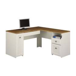Small Crop Of White L Shaped Desk