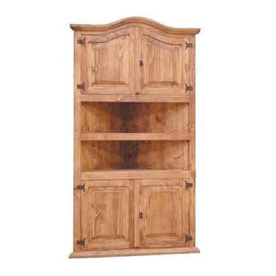 Shop Million Dollar Rustic Natural Wood 2 Shelf Bookcase