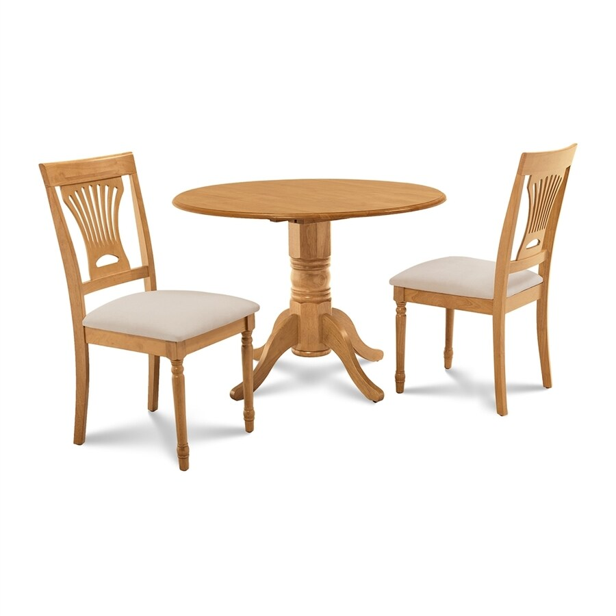 Round Oak Dining Table M D Furniture Burlington Oak Dining Set With Round Dining Table At