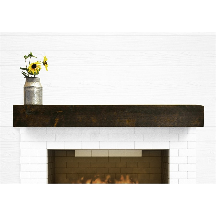 Modern Fireplace Images Dogberry 72 In W 5 5 In H X 10 In D Dark Chocolate Alder Modern