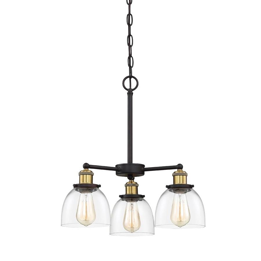 Contemporary Electrical Outlets Cascadia Lighting Bryson 3 Light Vintage Bronze Modern