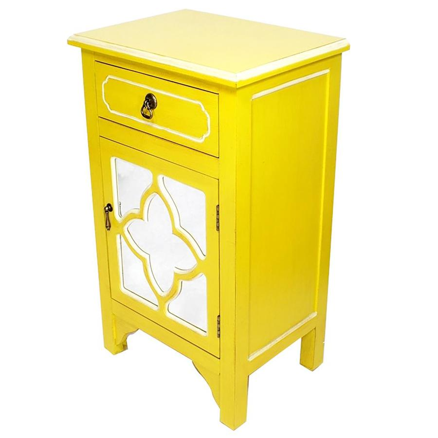 Base Yellow Semi Custom Kitchen Cabinets At Lowes Com
