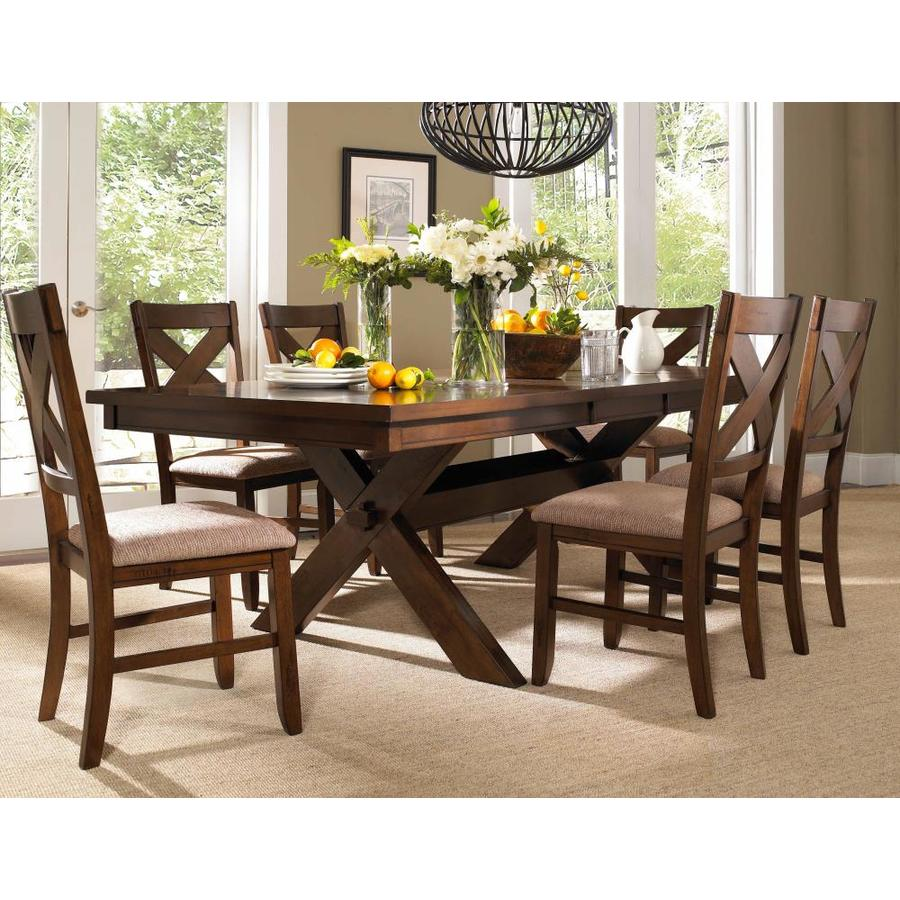 Powell 7 Pc Kraven Dining Set In The Dining Room Sets Department At Lowes Com
