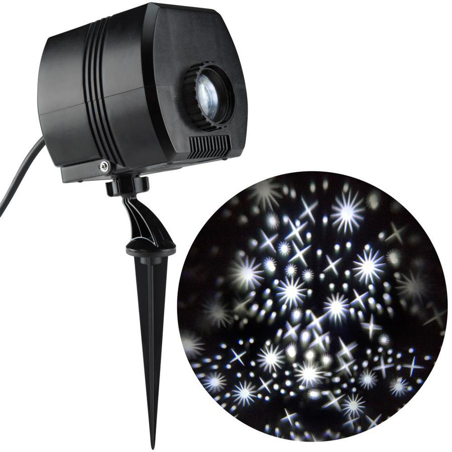 Light Projector Gemmy Lightshow Twinkling White Led Fairy Dust Christmas Indoor