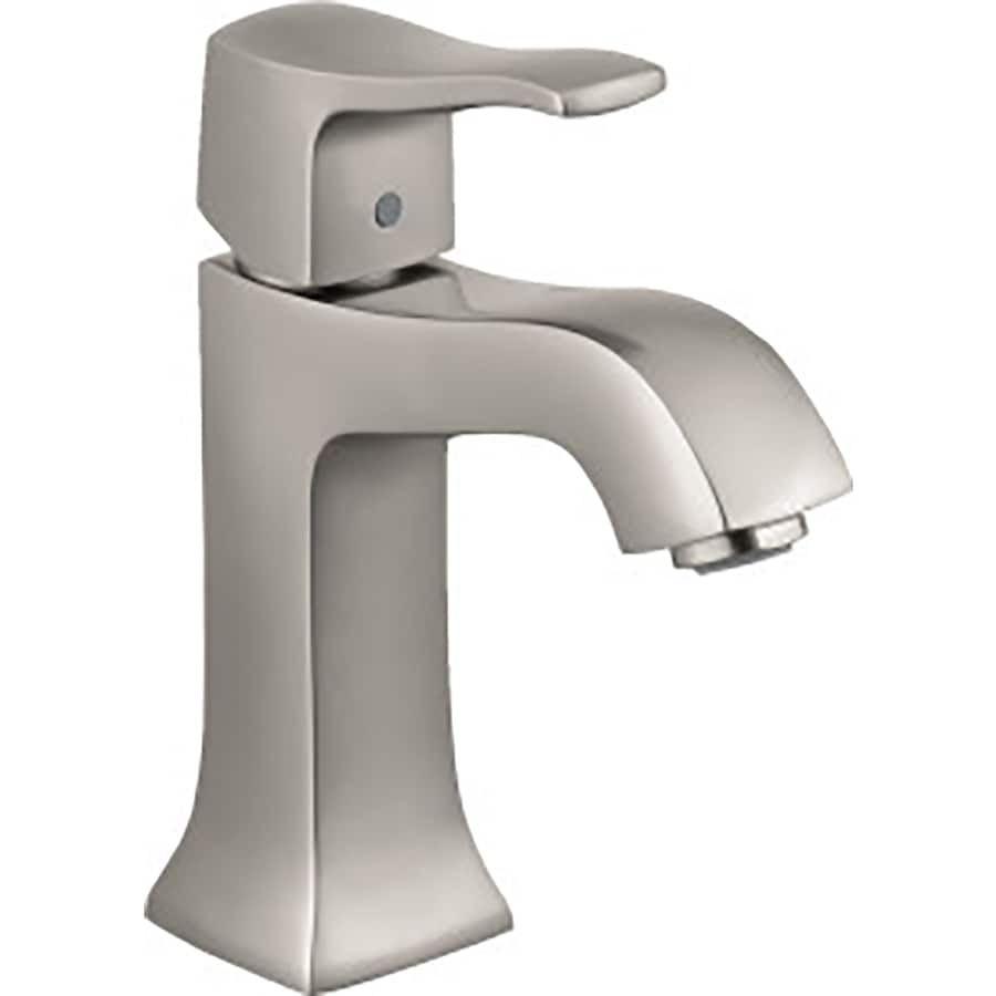 Hansgrohe Metris C Brushed Nickel 1 Handle Single Hole - Hansgrohe Metris