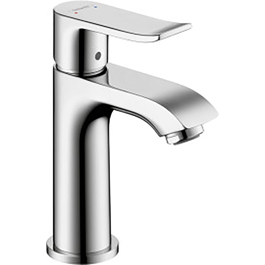 Hansgrohe Metris Chrome 1 Handle Single Hole Bathroom Sink - Hansgrohe Metris