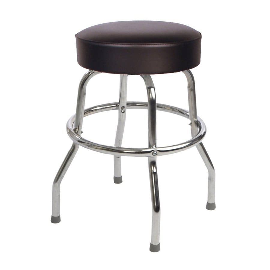 Guitar Stool Australia Richardson Seating Floridian Chrome Counter Stool At Lowes
