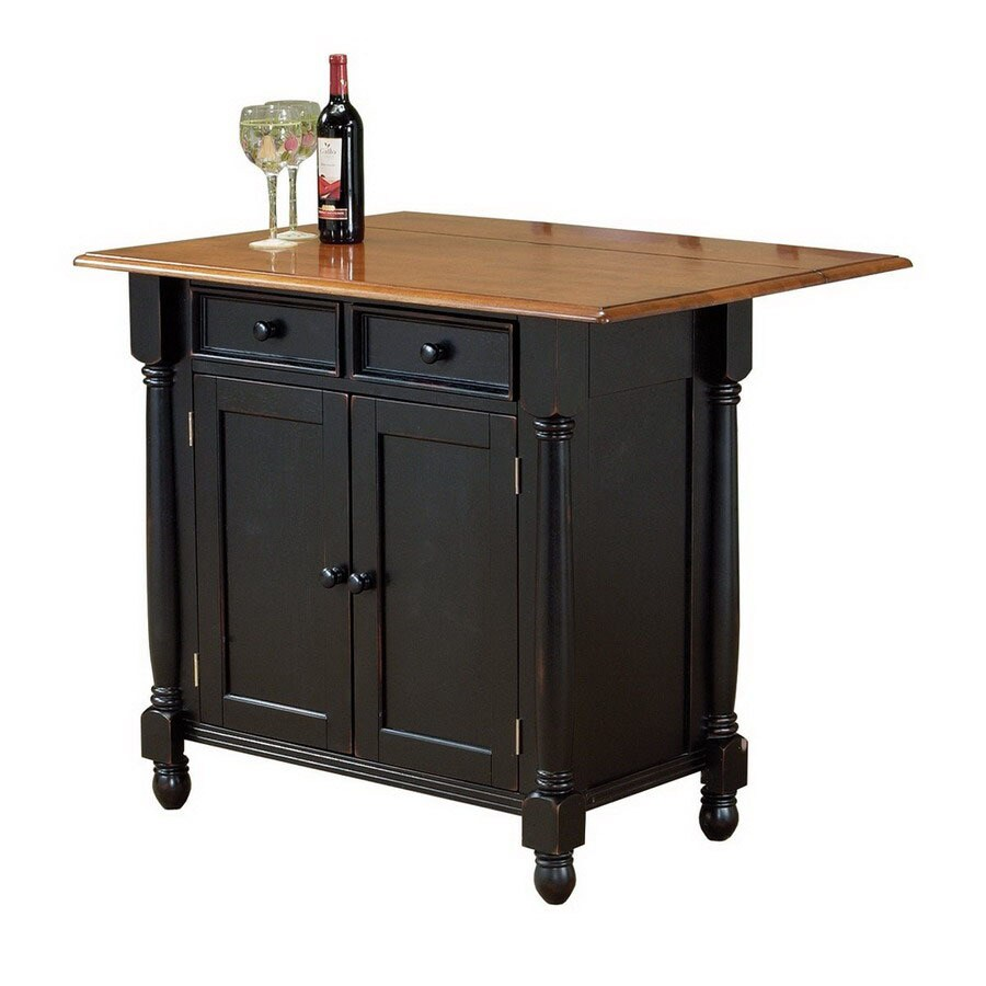 Sunset Trading Sunset Selections Kitchen Island Shop Sunset Trading 22-in L X 42-in W X 36-in H Antique