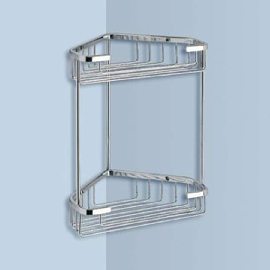 Chrome Bathroom Storage - Listitdallas