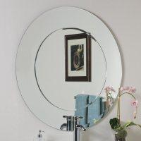Shop Decor Wonderland Oriana 35-in Round Bathroom Mirror ...