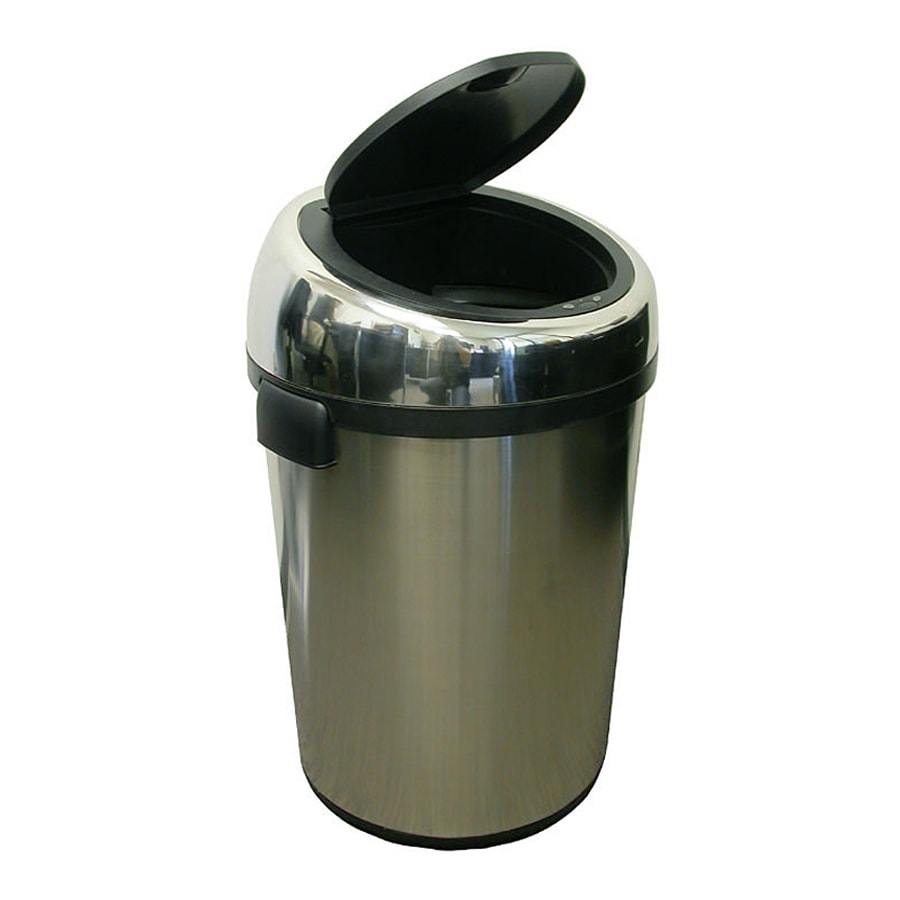 Metal Indoor Trash Can Itouchless 23 Gallon Stainless Steel Metal Touchless Trash Can