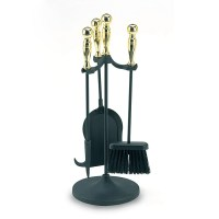 Shop ACHLA Designs 4-Piece Fireplace Tool Set at Lowes.com