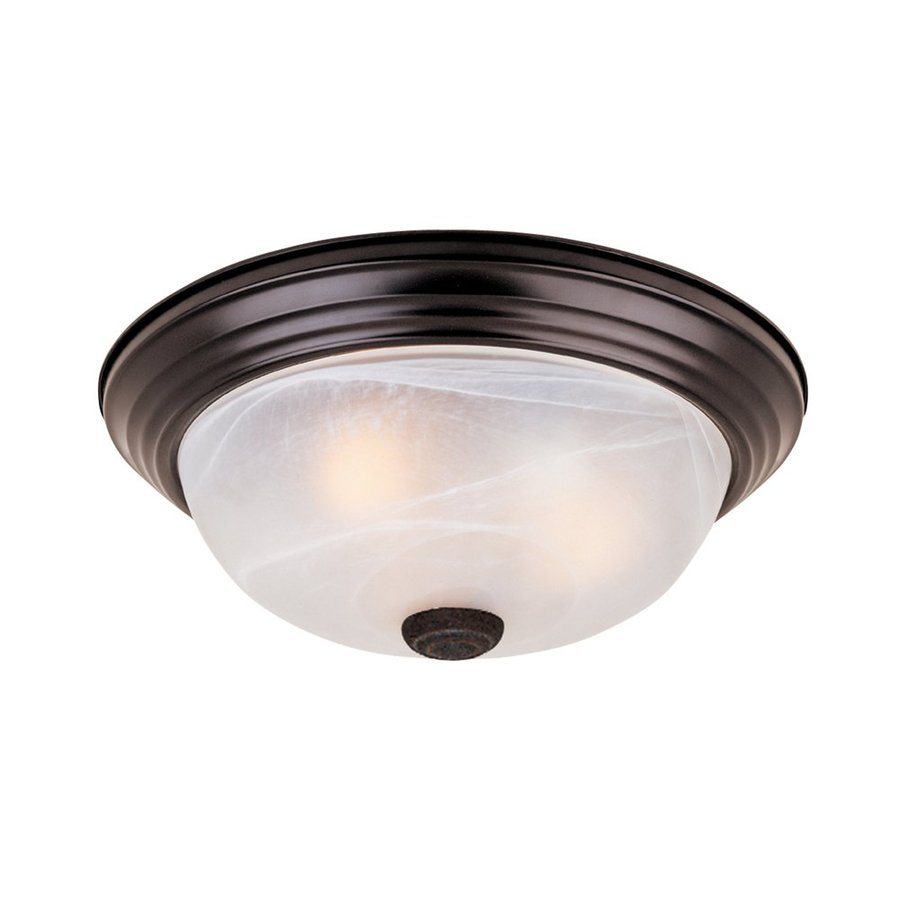 Designers Fountain Lighting Designers Fountain Lunar 11 25 In Oil Rubbed Bronze Flush Mount