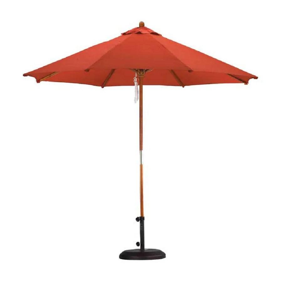 Shop California Umbrella Sunline Brick Market 9