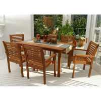 Shop International Home Amazonia 7-Piece Brown Eucalyptus ...