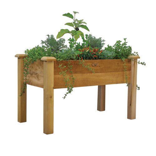 Medium Crop Of Wooden Herb Garden Planters