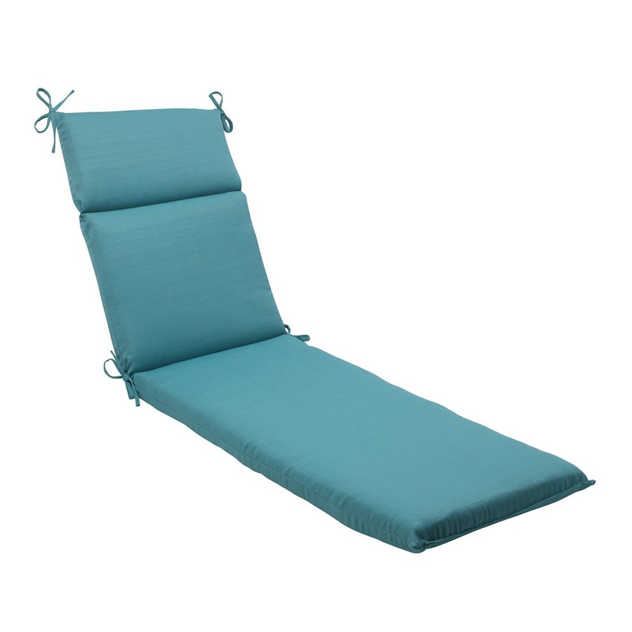 Shop Pillow Perfect 1 Piece Turquoise Standard Patio Chair