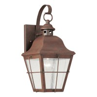 Shop Sea Gull Lighting Chatham 14.5-in H Weathered Copper ...