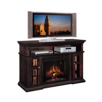 Shop 60-in W 5,200-BTU Espresso Wood Infrared Quartz ...