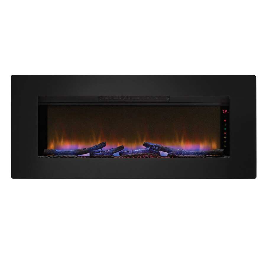 Walmart Black Electric Fireplace Fireplace Inserts At Lowes
