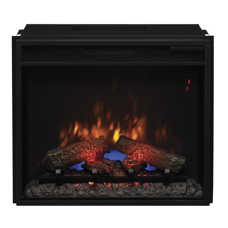 Shop 251875 In Black Electric Fireplace Insert At Lowescom
