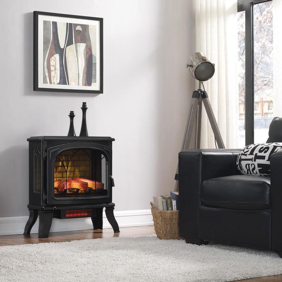 Best Electric Stove Fireplace Electric Stoves At Lowes