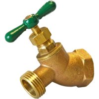 Shop AMERICAN VALVE 1/2-in FNPT Brass Multi Turn Hose Bibb ...