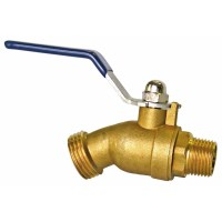 Shop AMERICAN VALVE 3/4-in Male Brass Hose Bibb at Lowes.com