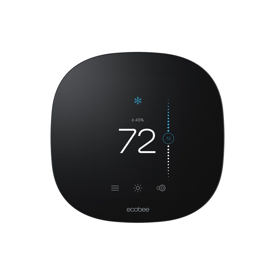 Ecobee Sensor Ecobee Thermostat With Built In Wifi At Lowes