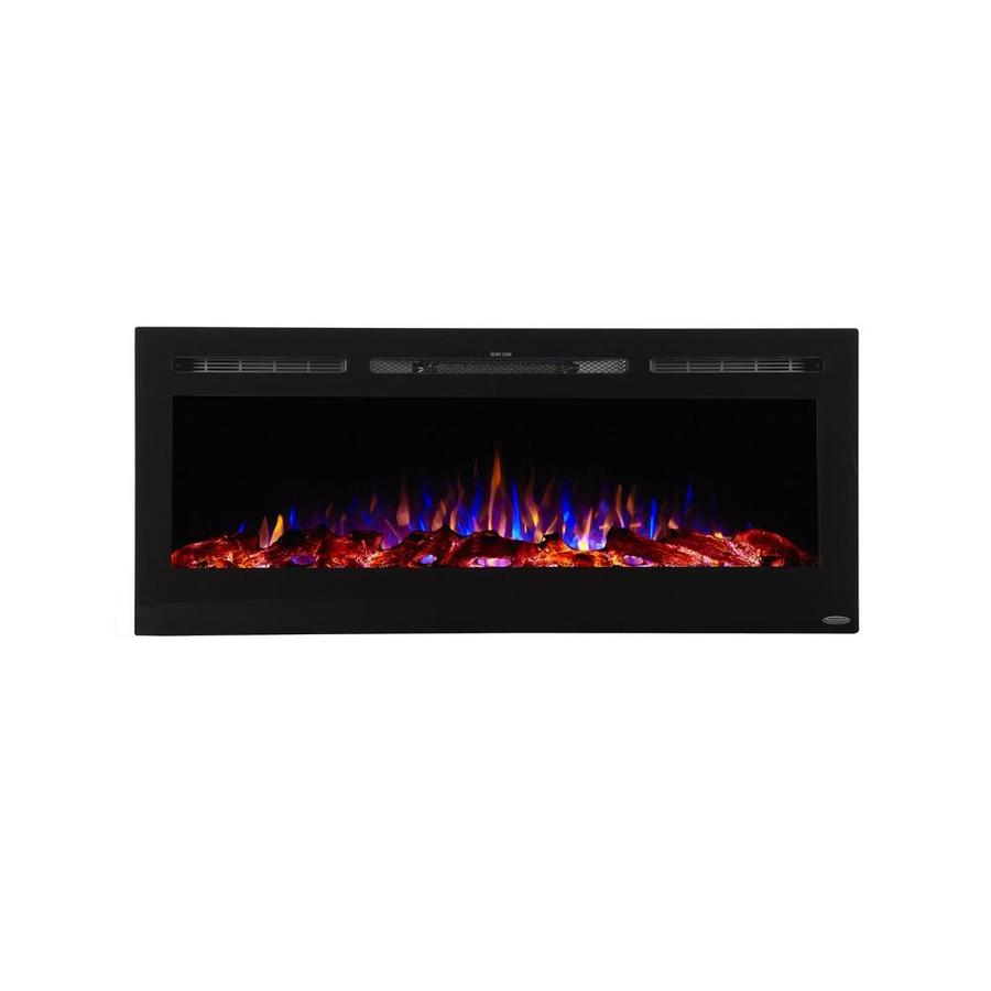 Gas Vs Electric Fireplace Pros And Cons Touchstone 50 4 In W Black Fan Forced Electric Fireplace At Lowes