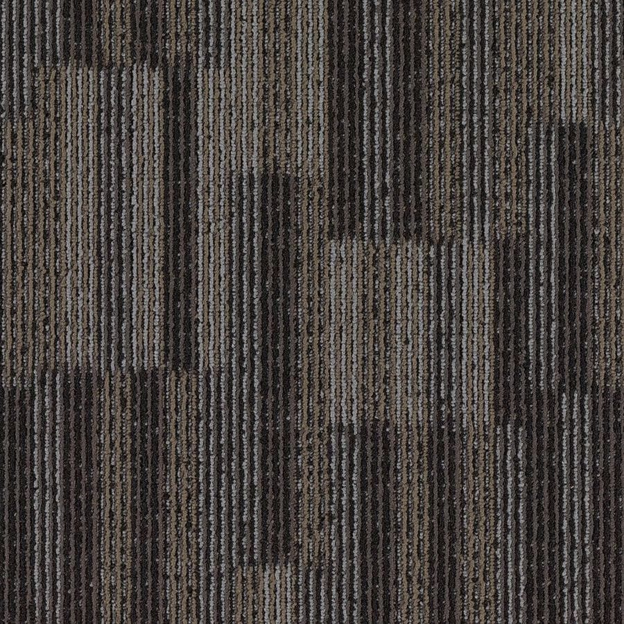 Lowes Carpet Installation Reviews Shop Mohawk Aladdin 18-pack 24-in X 24-in Ferrous Pattern