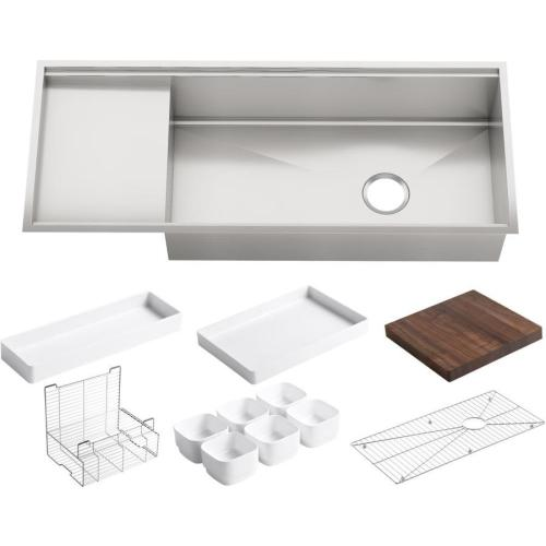 Medium Of Sink With Drainboard