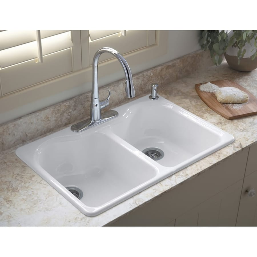 White Farmhouse Sinks For Sale Kitchen Sinks At Lowes