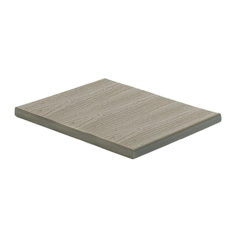 Fascia Board Trex Transcend 12 Ft Gravel Path Composite Fascia Board At Lowes