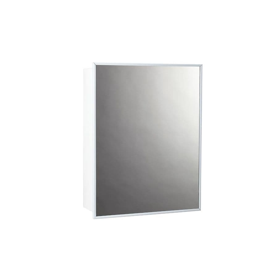 14 X 18 Recessed Medicine Cabinet Jensen Topsider 14 In X 18 In Rectangle Surface Mirrored Steel