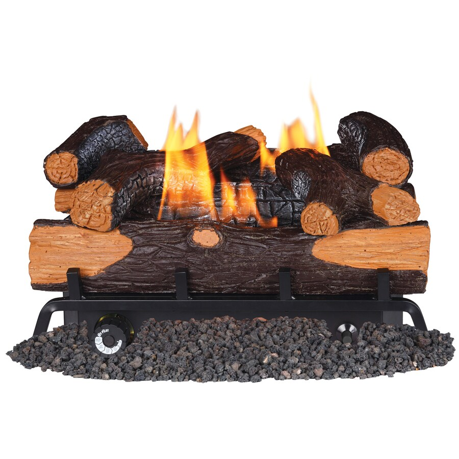 How Does A Vent Free Gas Fireplace Work Gas Fireplace Logs At Lowes