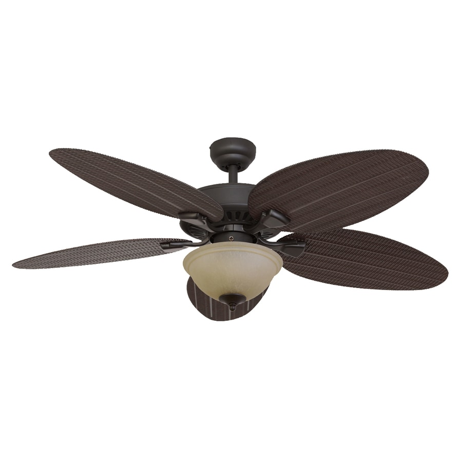 Black And Gold Ceiling Fan Palm Coast Summerland 52 In Bronze Indoor Outdoor Ceiling Fan With