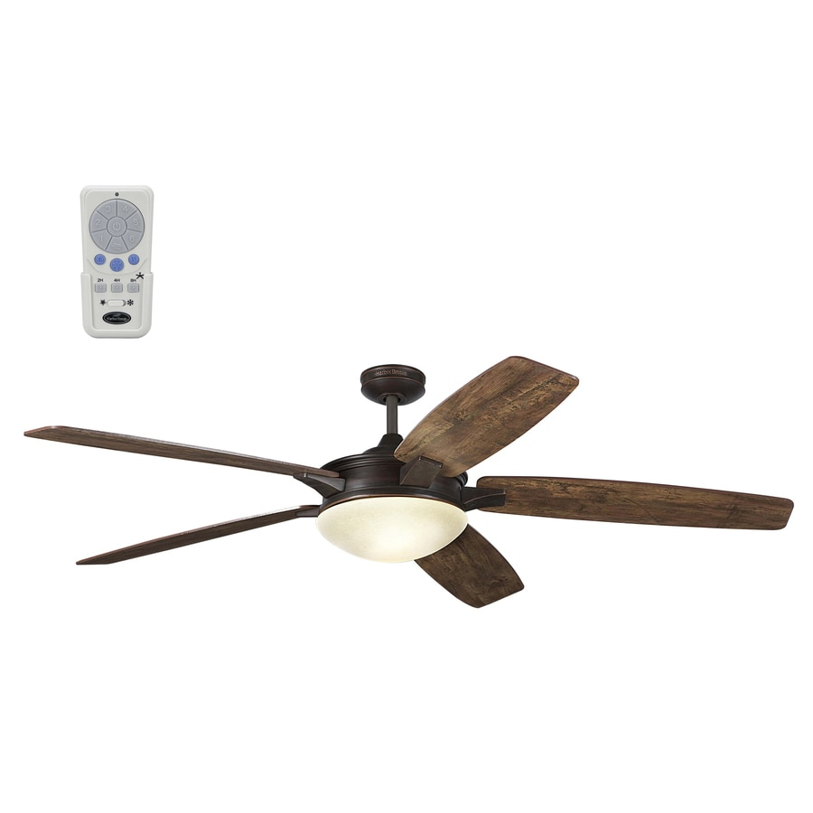 Ceiling Fans With Good Lighting Harbor Breeze Kingsbury 70 In Oil Rubbed Bronze Indoor Downrod