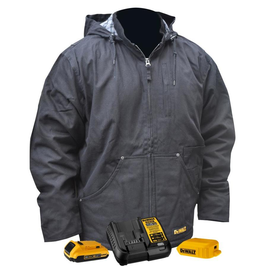 Heated Vest Canada Dewalt Heated Jacket Large At Lowes