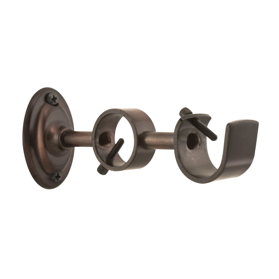 Long Curtain Rod Brackets Curtain Rod Brackets At Lowes