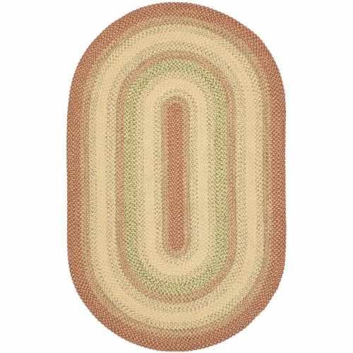 Medium Of Oval Braided Rugs